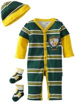Vitamins Baby Boys Newborn Class Act Coverall Set