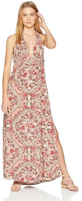 O'Neill Women's Dolley Printed Maxi Dress