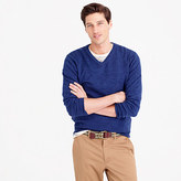 J.Crew Tall rugged cotton V-neck sweater