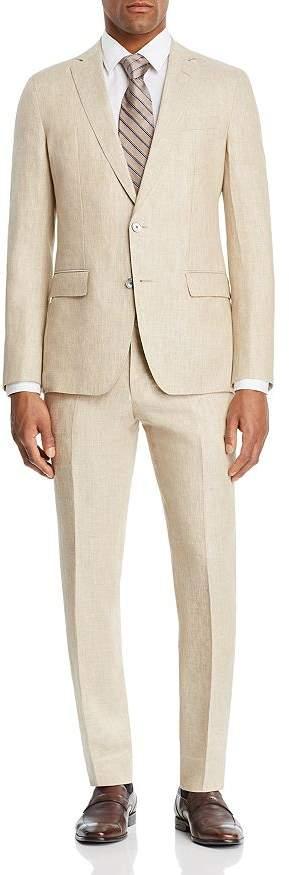 HUGO BOSS BOSS Helford/Gander Linen Solid Slim Fit Suit