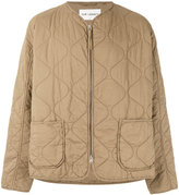 Our Legacy quilted zip jacket - men - Cotton - M