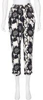 Piamita Silk High-Rise Pants