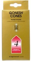 Gonesh:Classic Cone No.4:5 Packs of 25 (125 total)