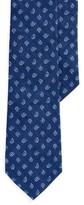 Ralph Lauren Pine-Print Linen Narrow Tie