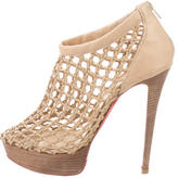 Christian Louboutin Cage Leather Pumps