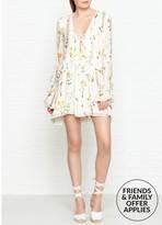 Wildfox Couture Brando Wild Flower PrintDress