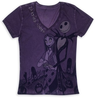 Disney Jack Skellington and Sally T-Shirt for Women