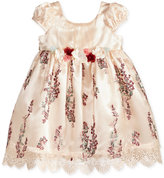 Bonnie Baby Embroidered Empire-Waist Dress, Baby Girls (0-24 months)