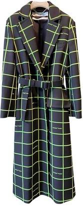 Off-White Black Coat for Women
