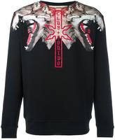 Marcelo Burlon County of Milan 'Victor' sweatshirt - men - Cotton/Polyester - S