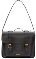 Dr. Martens Black Leather Messenger Bag