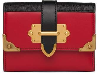 Prada Cahier compact wallet