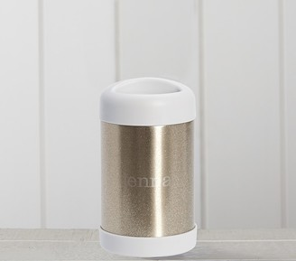 Pottery Barn Kids Gold Glitter Hot & Cold Container