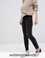 New Look Maternity Washed Skinny Jeans