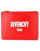 Givenchy logo print pouch