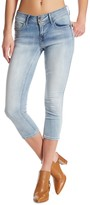 Seven7 Skinny Booty Shaper Cropped Jeans