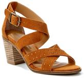 Lucky Brand Kesey Studded Chunky-Heel Sandal