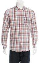 A.P.C. Woven Plaid Shirt