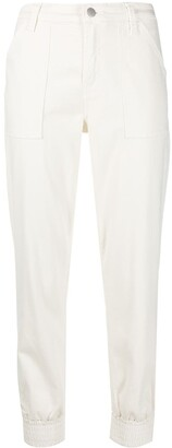 J Brand Arkin zip-ankle track pants