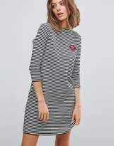 Esprit Stripe Jersey Dress