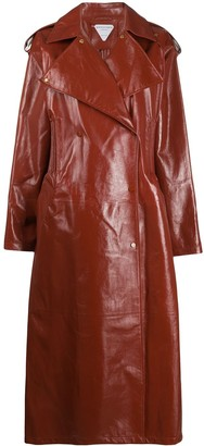 Bottega Veneta Double Breasted Trench Coat