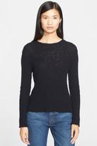 Helmut Lang Slub Cashmere Crew Neck Sweater