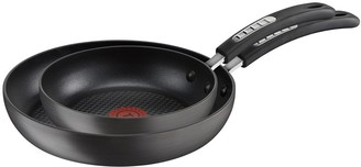 Tefal Hard Anodised 20cm & 26cm Frypan Twin Pack