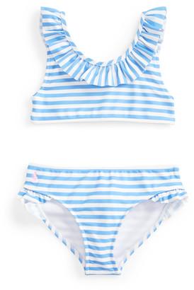 Ralph Lauren Striped Two-Piece Swimsuit