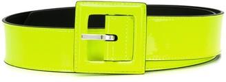 Saint Laurent square buckle belt