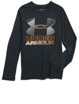 Under Armour Boy's Logo Graphic Heatgear T-Shirt