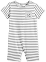 First Impressions Striped Pocket Romper, Baby Boys (0-24 months)