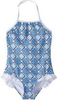 Snapper Rock Girls' Moroccan Halter One Piece Swimsuit (2T16) - 8155100