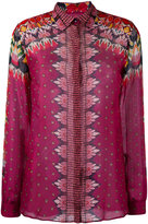 Etro patterned blouse - women - Silk/Cotton - 40
