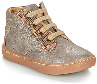 GBB RAYA girls's Shoes (High-top Trainers) in Beige