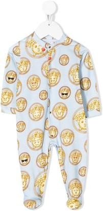 Versace Medusa emoji print pyjamas
