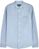 A.p.c. Xavier Cotton Chambray Shirt
