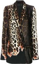 Haider Ackermann Ernest leopard blazer