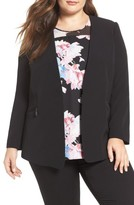 Vince Camuto Plus Size Women's Zip Pocket Blazer
