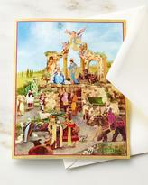 Caspari Nativity Printed Cards with Envelopes, Set of 16