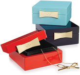 Kate Spade Garden Drive Square Jewelry Box Collection
