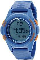 Puma Men's PU911161003 Vertical Blue Digital Display Quartz Watch