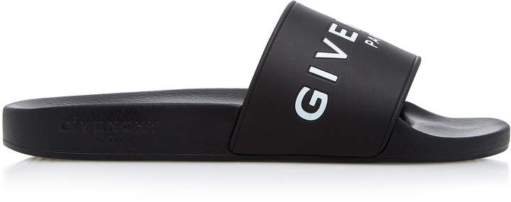 Givenchy Printed Rubber Slides