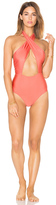 MinkPink Just Peachy One Piece Swimsuit