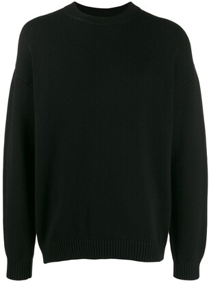 Kenzo Contrasting-Logo Knitted Jumper