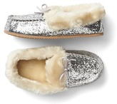 Gap Cozy glitter moccasin slippers