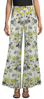 Carolina Herrera Floral Printed Flared Pant