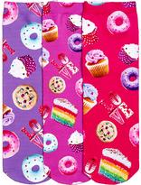 LittleMissMatched Purple & Pink Sweets Sublimated Socks Set