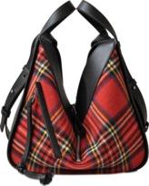 Loewe Hammock Tartan Small Bag
