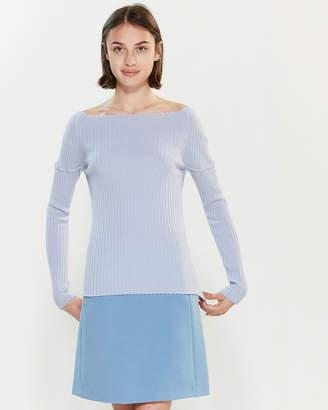Roberto Collina Rib Knit Long Sleeve Sweater