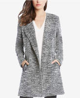 Karen Kane Faux-Leather-Trim Blazer